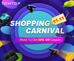Kaufen Sie online zu den besten Preisen bei Tomtop.com ein
